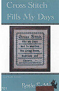 Cross Stitch Fills My Days - Cross Stitch Pattern