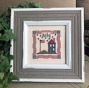 July Squared - Cross Stitch Pattern