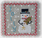 Snowy 9 Patch - Part 6 - Cross Stitch Pattern