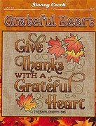 Grateful Hearts - Cross Stitch Pattern