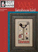 Farmhouse Bird - Cross Stitch Pattern