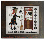 Witch's Pantry - Cross Stitch Pattern