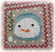 Snowy 9 Patch - Part 7 - Cross Stitch Pattern