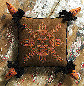 Quaker Pumpkin - Cross Stitch Pattern