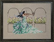 Garden Prelude - Cross Stitch Pattern
