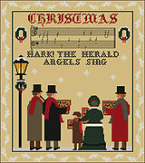 Hark The Herald Angels Sing - Cross Stitch Pattern