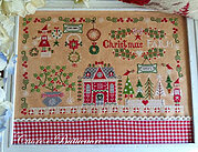 Christmas Farm - Cross Stitch Pattern
