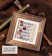 Defining Autumn - Cross Stitch Pattern