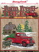 Farm Fresh Trees - Cross Stitch Pattern