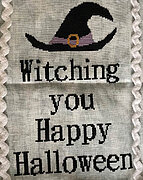 Witching Happy Halloween - Cross Stitch Pattern