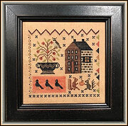 Crow's Corner - Cross Stitch Pattern