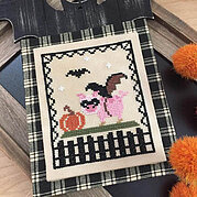 Bat Pig - Cross Stitch Pattern