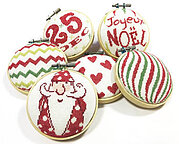 Christmas Ornament 3 (N039)- Cross Stitch Pattern