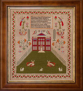 How Now Brown Cow BW 1831 -  Cross Stitch Pattern