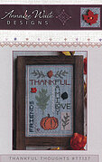Thankful Thoughts - Cross Stitch Pattern