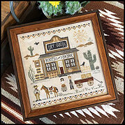Old West Dry Goods - Cross Stitch Pattern
