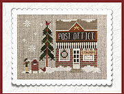 Post Office - Hometown Holiday - Cross Stitch Pattern