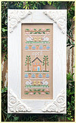 Sampler of the Month - April - Cross Stitch Pattern