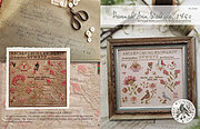 Hannah Ann Wallace 1850 - Cross Stitch Pattern