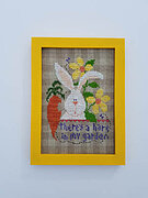 There's a Hare in My Garden - Cross Stitch Pattern