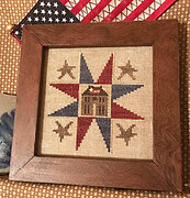 American Home - Cross Stitch Pattern