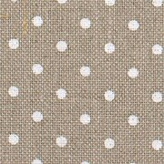 36 Count Petit Point Raw Natural/White Edinburgh Linen 36x55