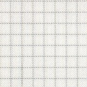 25 Count Easy Count Grid White/Grey Lugana Fabric 18x27