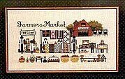 Farmers Market - Cross Stitch Pattern
