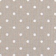 32 Count Petit Point Grey/White Lugana Fabric 9x13