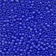 Mill Hill 60020 Frosted Royal Blue Beads - Size 11/0