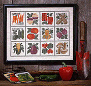 Farmer's Market - Cross Stitch Pattern