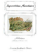 Superstition Mountains - Cross Stitch Pattern