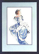 Winter Queen - Mirabilia Cross Stitch Pattern
