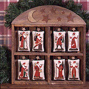 Old World Santas - Cross Stitch Pattern
