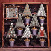 Christmas Trees - Cross Stitch Pattern