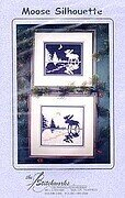 Moose Silhouette - Cross Stitch Pattern