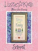 Bless Our Family - Cross Stitch Pattern