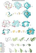 Nature Blossoms - Clear Stamp Set
