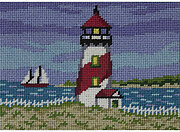 Red Lighthouse - Canoodles Needlepoint Kit