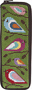 Spec Case - Birds Of Color - Needlepoint Kit