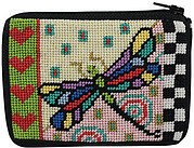 Coin Purse - Dragonfly - Needlepoint Kit