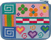 Coin Purse - Patchwork - Needlepoint Kit