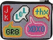 Coin Purse - Texting - Needlepoint Kit