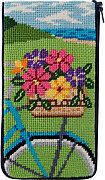Eyeglass Case - Springtime Ride - Needlepoint Kit