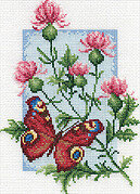 Peacock - Cross Stitch Kit
