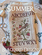 Summer - Loose Feathers - Cross Stitch Pattern