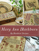 Mary Ann Blackburn (Loose Feathers) - Cross Stitch Pattern