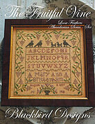 Fruitful Vine, The - Loose Feathers - Cross Stitch Pattern