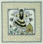 Queen of the Bees - Cross Stitch Pattern