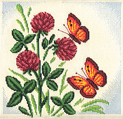 Butterflies - Cross Stitch Kit
